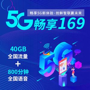 5G畅享169套餐